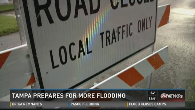 Tampa prepares for more flooding