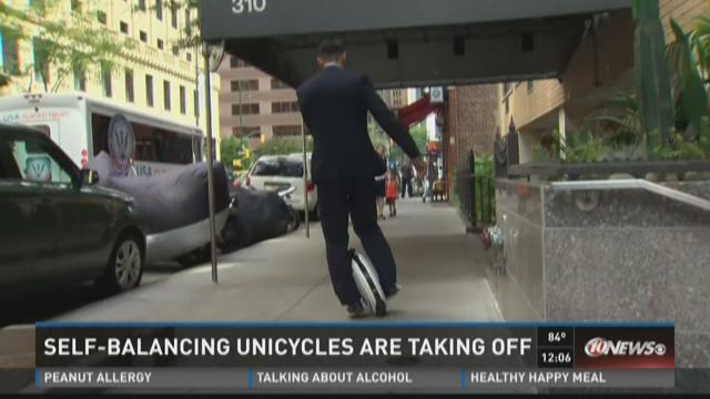 Self-balancing unicycles are taking off