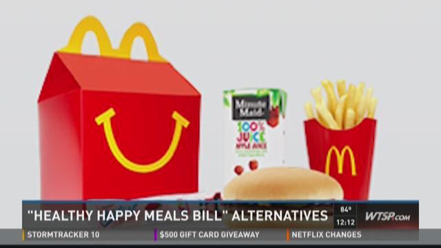 'Healthy Happy Meals bill' alternatives