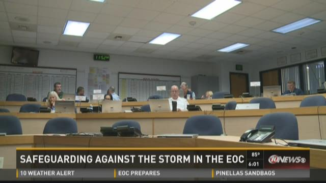 Safeguarding against the storm in the EOC