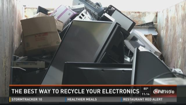 Best way to recycle electronics