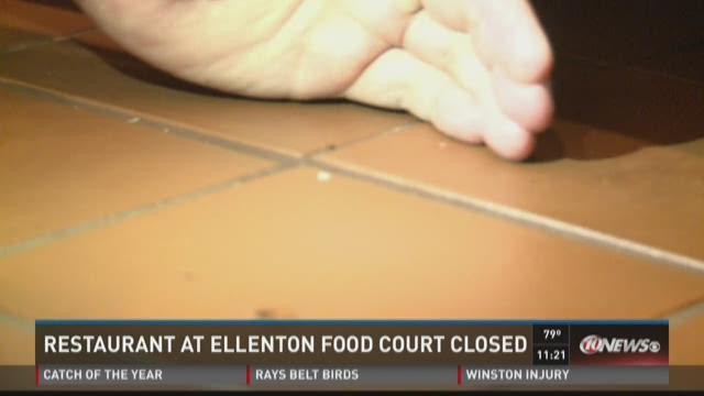 Restaurants at Ellenton mall shut down