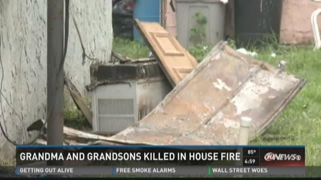 Grandmother, 2 grandkids die in Tampa house fire