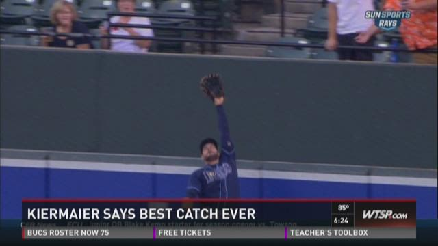 Rays' Kevin Kiermaier makes epic catch