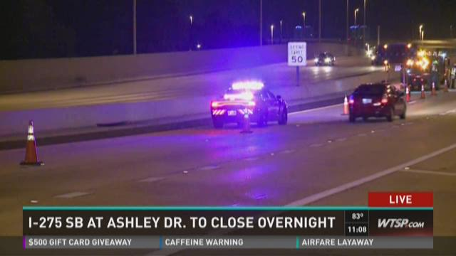 SB I-275 closed from Ashley to West Shore