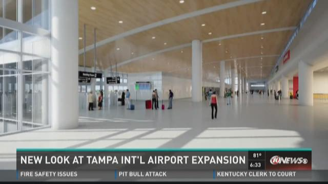 New look at Tampa International Airport expansion