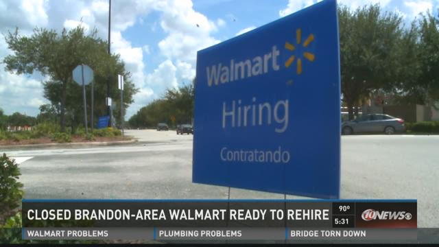 Brandon Walmart looks to fall reopening