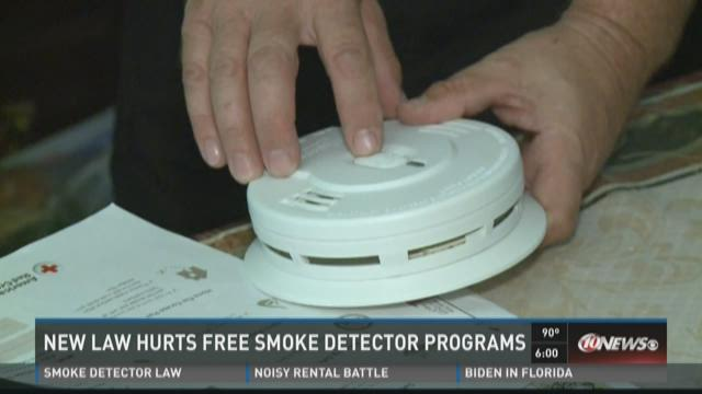 New law hurts free smoke detector programs