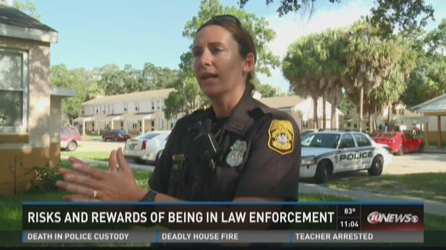 Tampa police sees risks, rewards