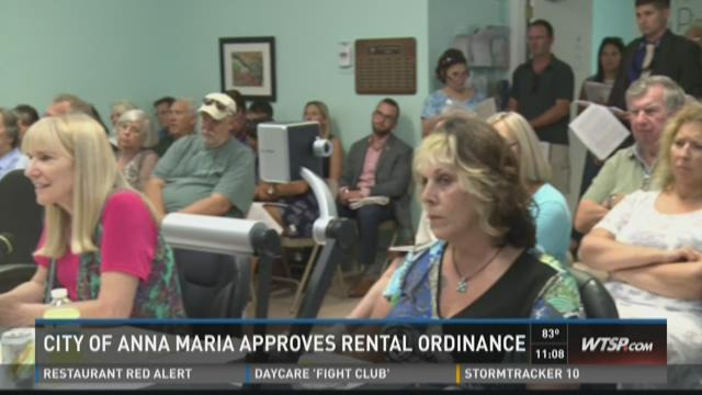 Anna Maria approves new ordinance for rentals