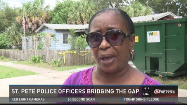 St. Pete police form relationships on beat