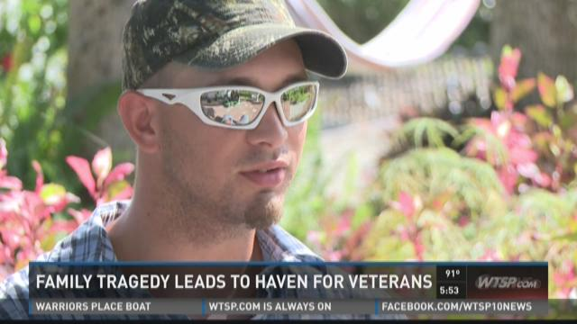 Mother's loss leads to creation of veterans haven