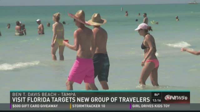 Visit Florida targets new group of travelers