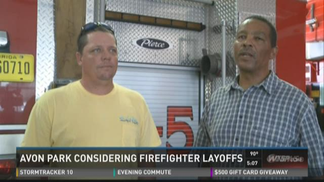 Avon Park may lay off firefighters