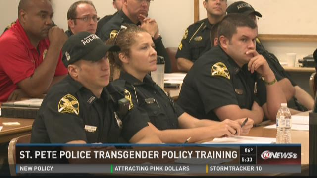 St. Pete police get transgender training