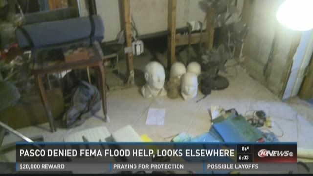 Pasco eyes state funds after FEMA denial