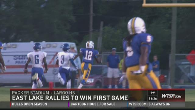 East Lake beats Largo, 28-25