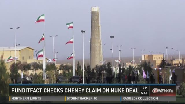 "On a recent visit to MSNBC's ""Morning Joe"" program, Cheney said the plan violates a decades-old agreement, the Nuclear Nonproliferation Treaty which was ratified in 1969."