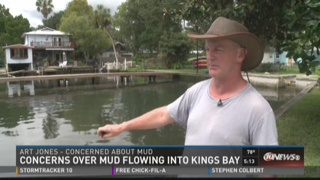 Crystal River residents blame FDOT for muddy water