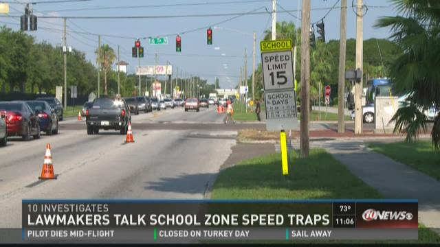 Lawmakers talk school zone speed traps