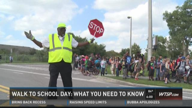 International Walk to School Day: What you need to know