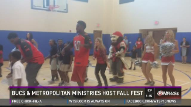 Bucs and Metropolitan Ministries host Fall Fest