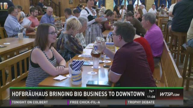 Hofbrauhaus bringing big business to downtown