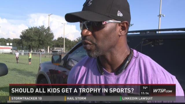 Should all kids get a trophy in sports?