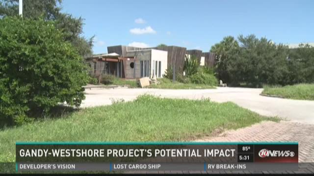 Gandy-Westshore project's potential impact