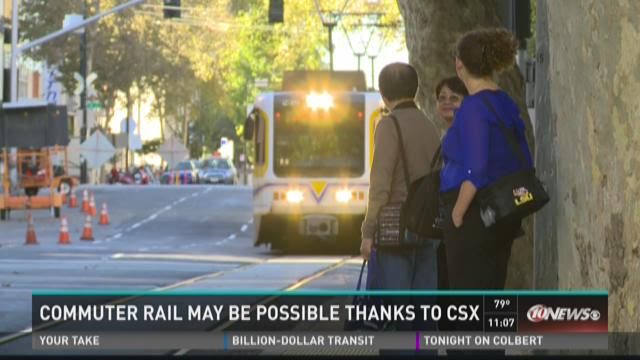 Commuter rail may be possible thanks to CSX