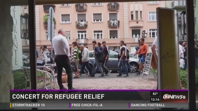 Concert for refugee relief