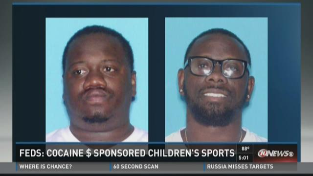 Feds: Cocaine money sponsored children's sports