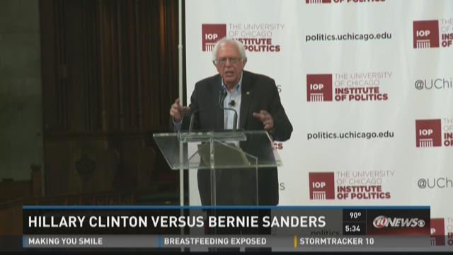 Hillary Clinton versus Bernie Sanders