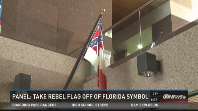 Panel: Take Rebel flag off Florida symbol