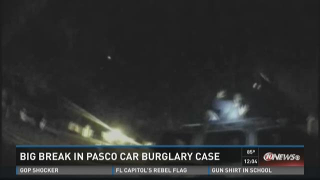 Big break in Pasco car burglaries case