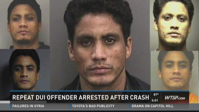 Repeat DUI offender arrested after fatal crash