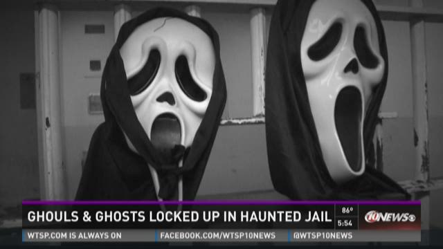 Ghouls, ghosts locked up in haunted jail