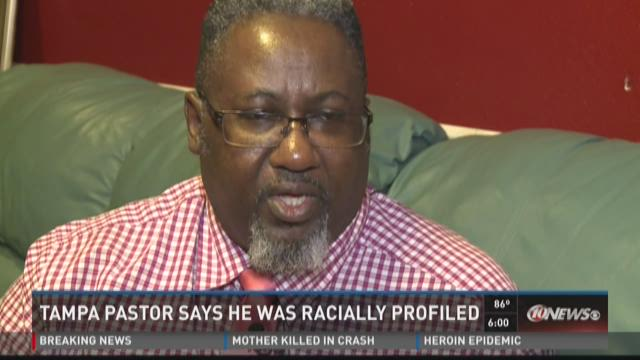 Tampa pastor says he was racially profiled