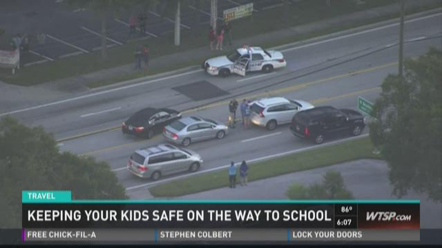 Keeping your kids safe on the way to school