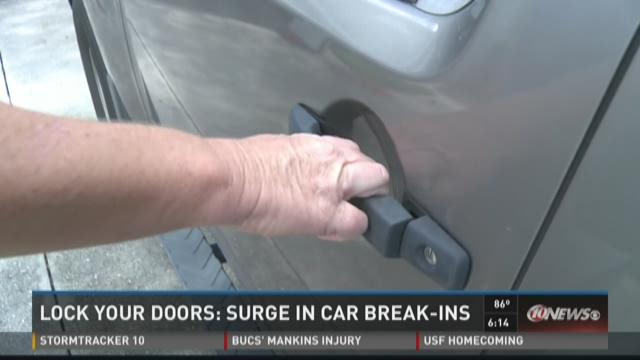 Pasco sheriff: Lock doors to prevent car burglaries