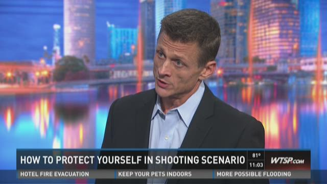 Expert discusses what to do in shooting scenario