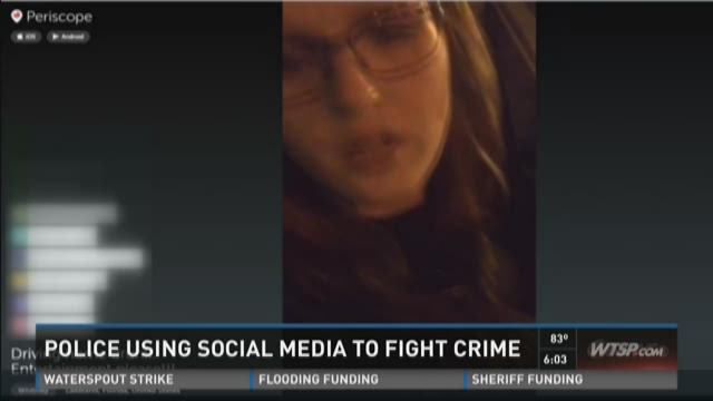 Police using social media to fight crime