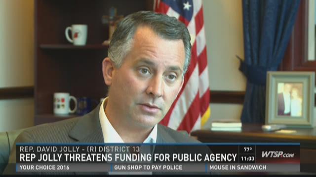 Rep. David Jolly threatens to cut HUD funding