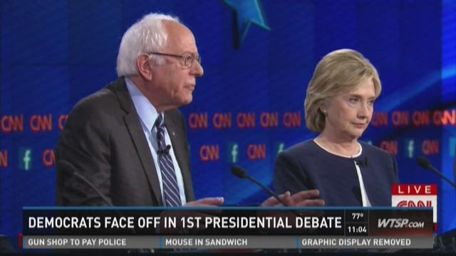 Your Choice 2016: Democrats show fire in first debate