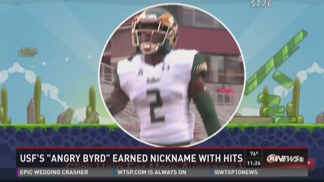 USF's DB Jaime Byrd earns cool nickname