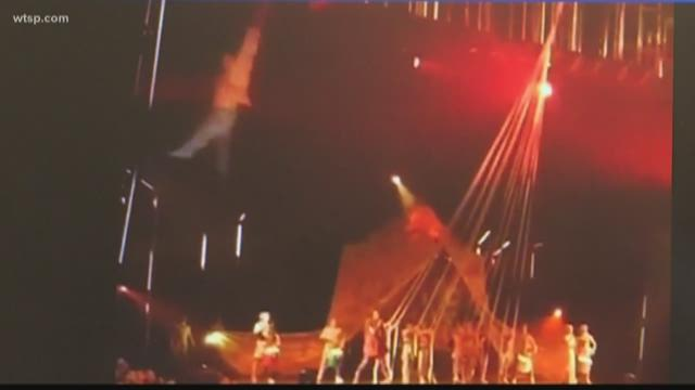 Cirque du Soleil performer dies after fall during Tampa show; 'Volta' canceled